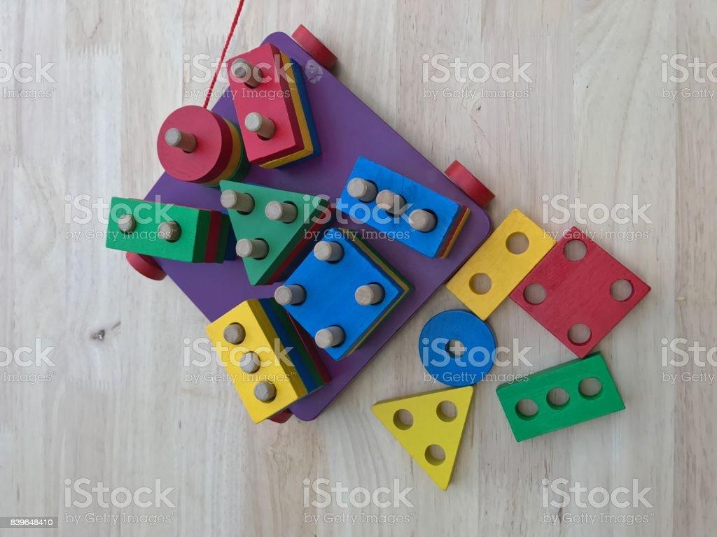 Block toy for children development
