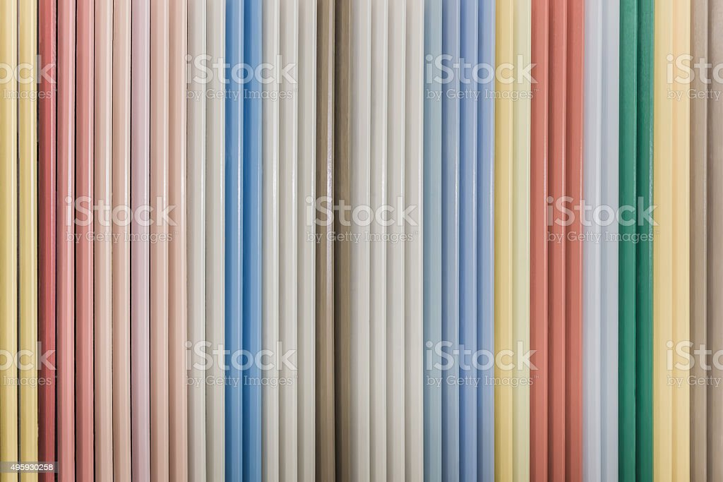 Colorful wooden blinder panel background stock photo