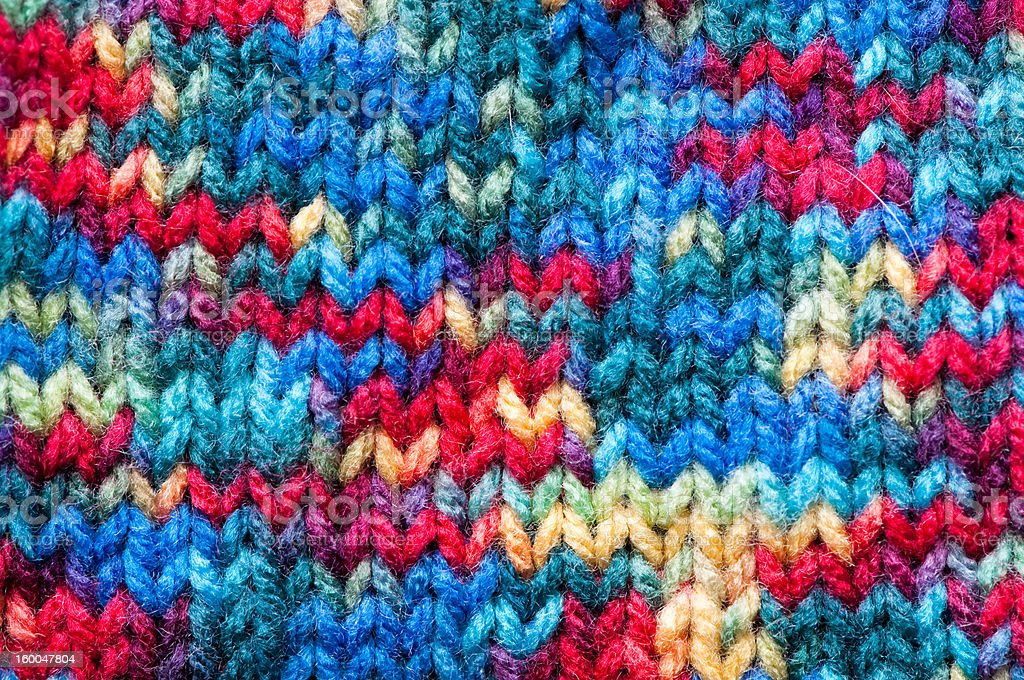 colorful woolen sweater royalty-free stock photo