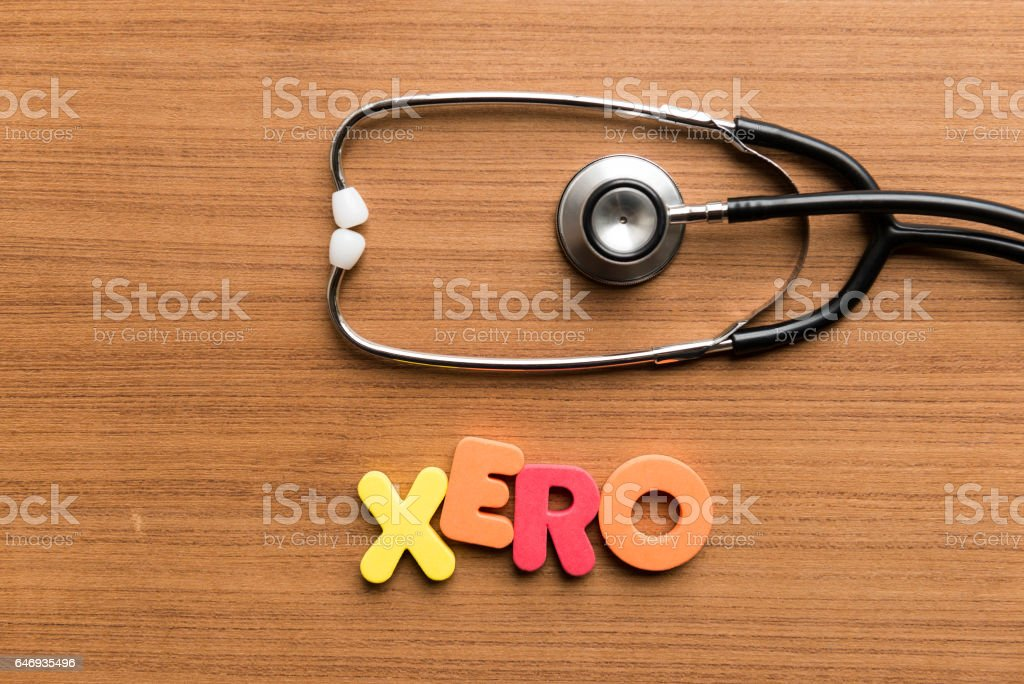 colorful word on wooden background stock photo