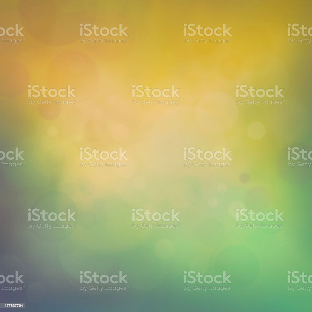 Colorful yellow bokeh background royalty-free stock photo