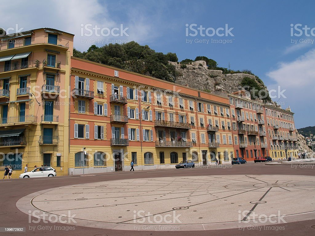 Colorfull houses, Nice royalty-free stock photo