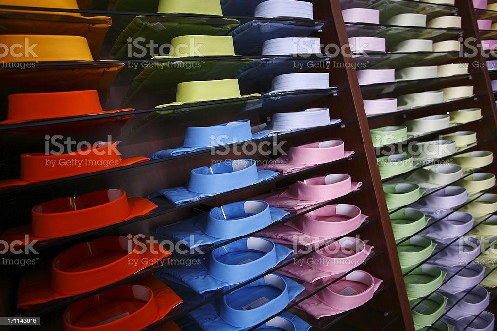 Colorfull shirts stock photo
