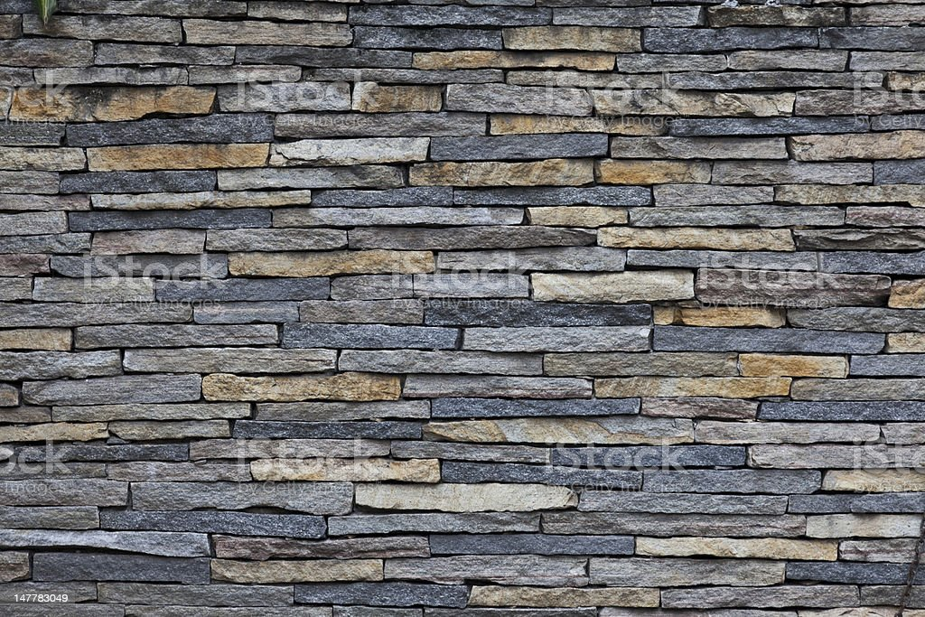 Colorfull Stone Wall stock photo