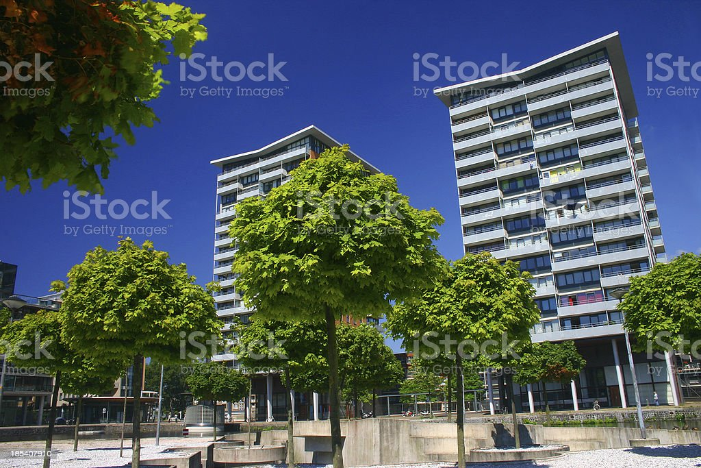 Colorfull The Hague royalty-free stock photo