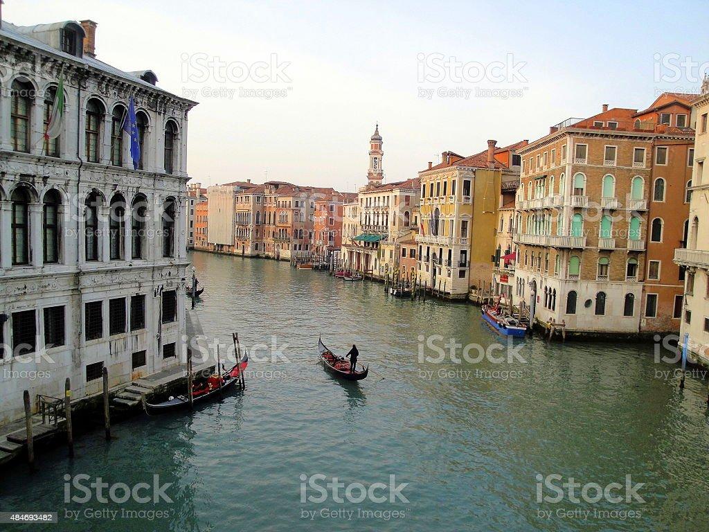 Colorfull Venice stock photo