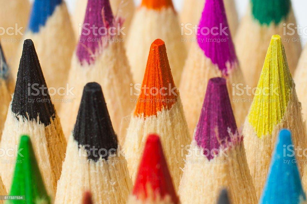 Coloring Pensil stock photo