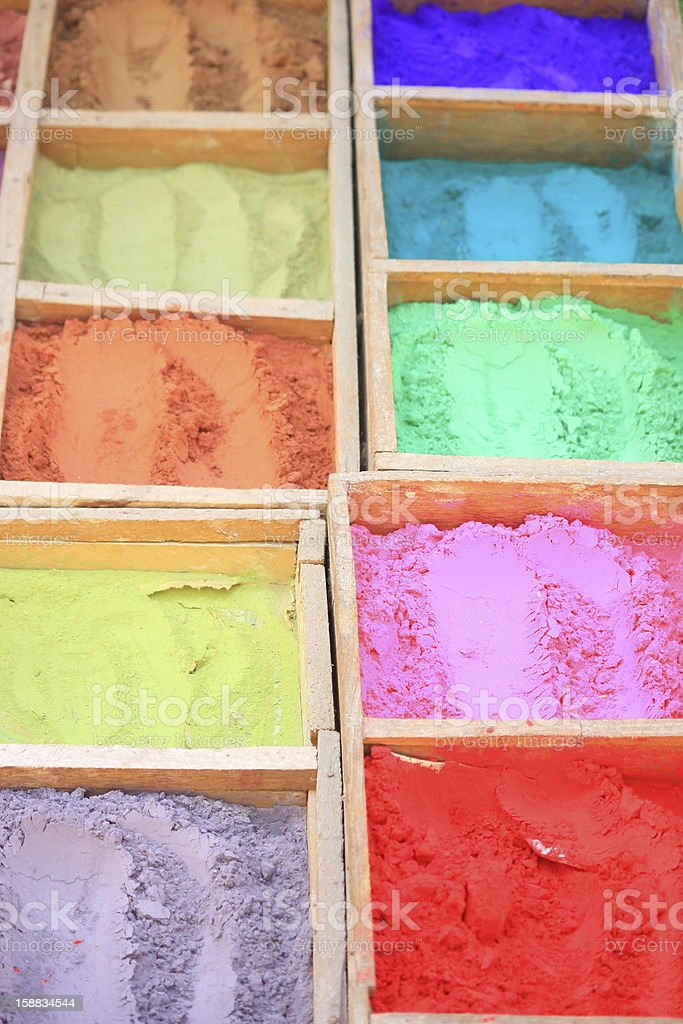 Colors for decorate royalty-free stock photo