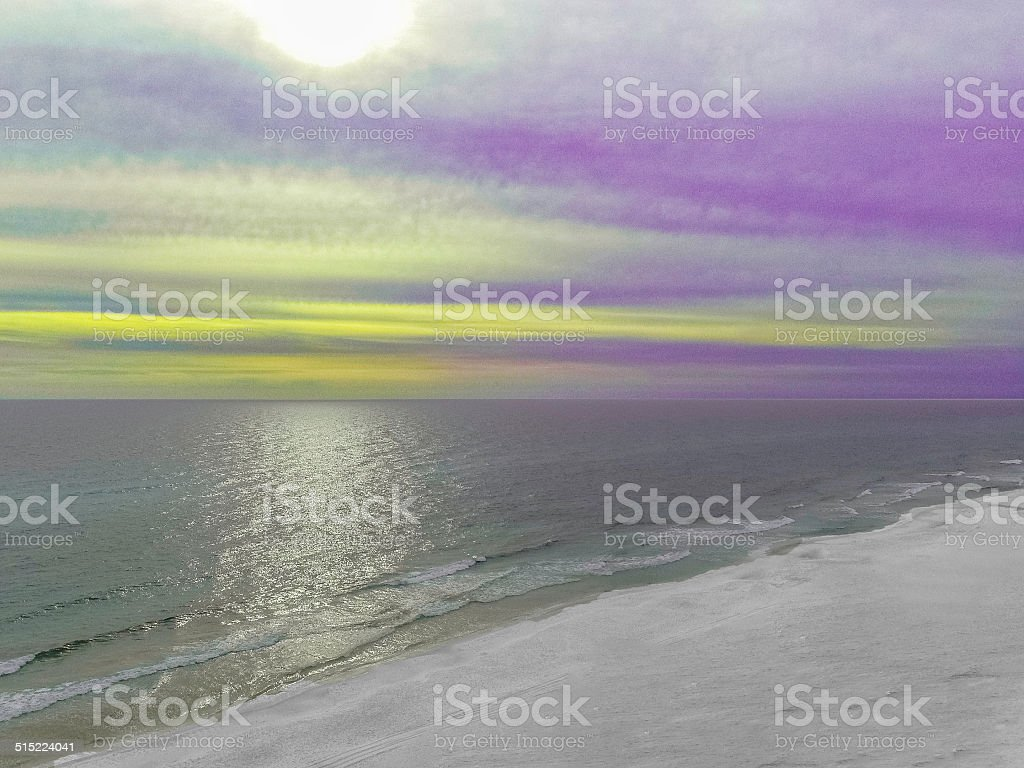 Colors in the Sky stock photo