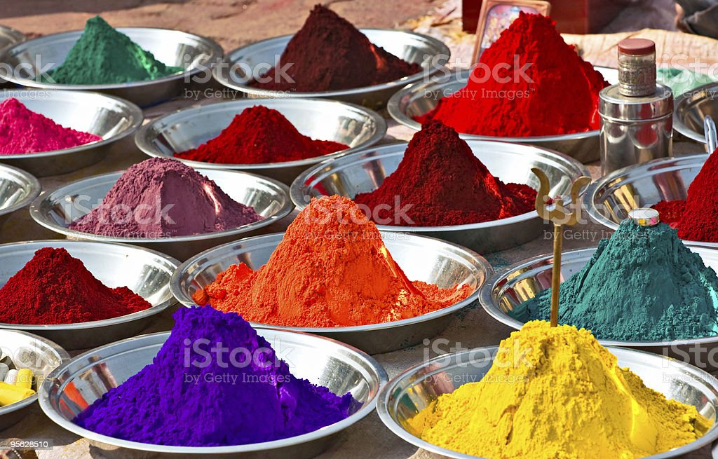 Colors, India. royalty-free stock photo