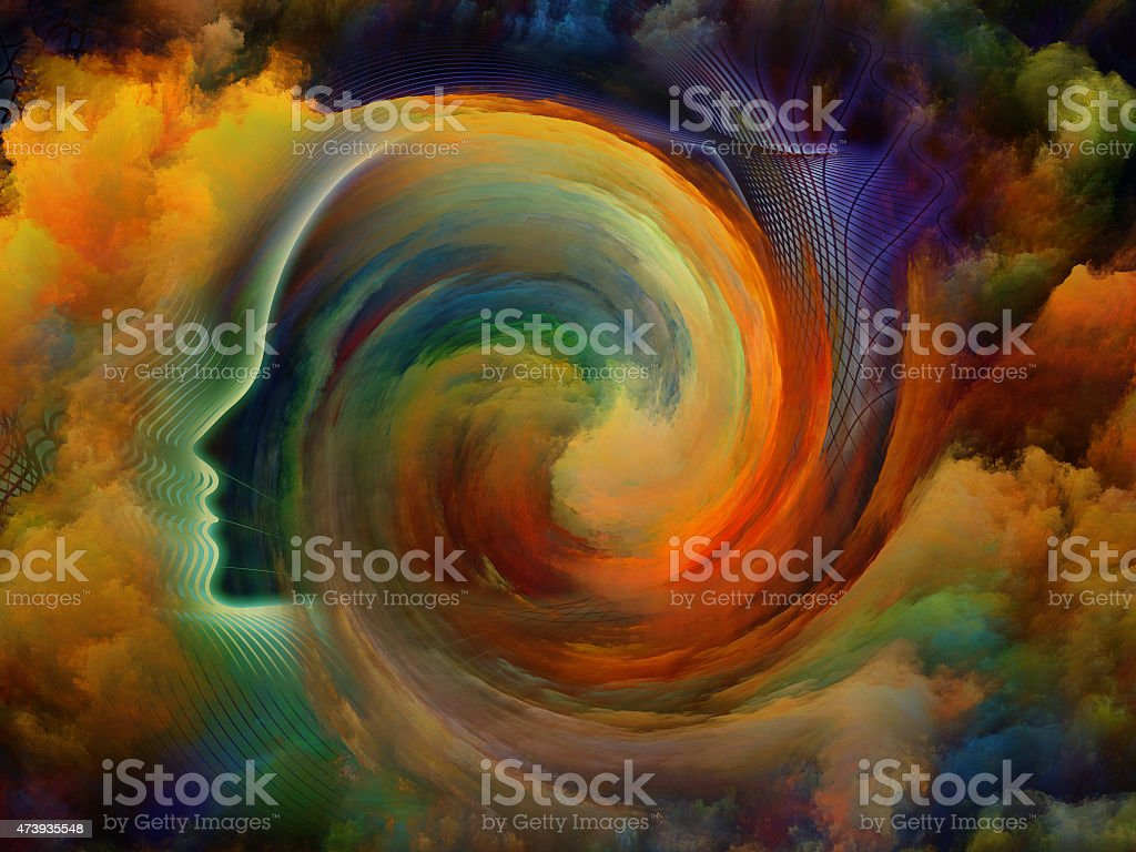 Colors Inside stock photo