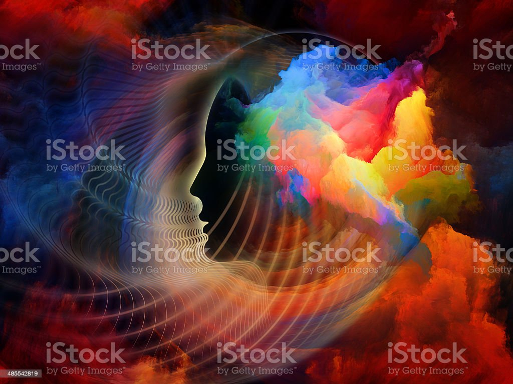 Colors Inside royalty-free stock photo
