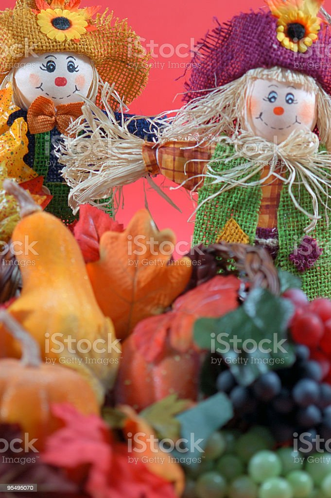 Colors of Autumn at home royalty-free stock photo