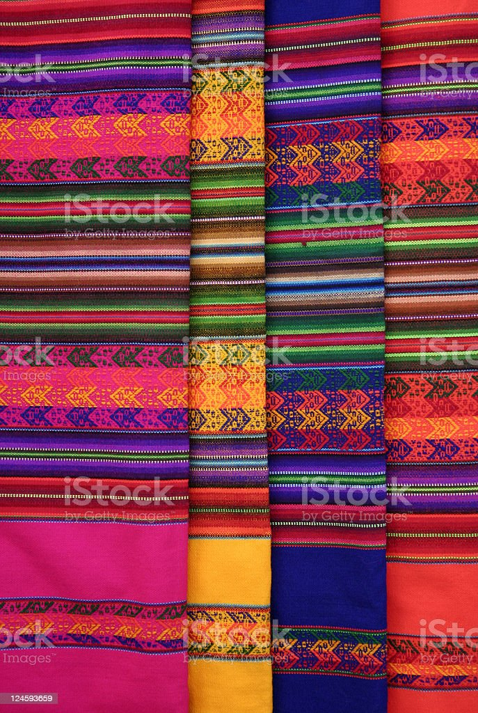 Colors of Bolivia royalty-free stock photo
