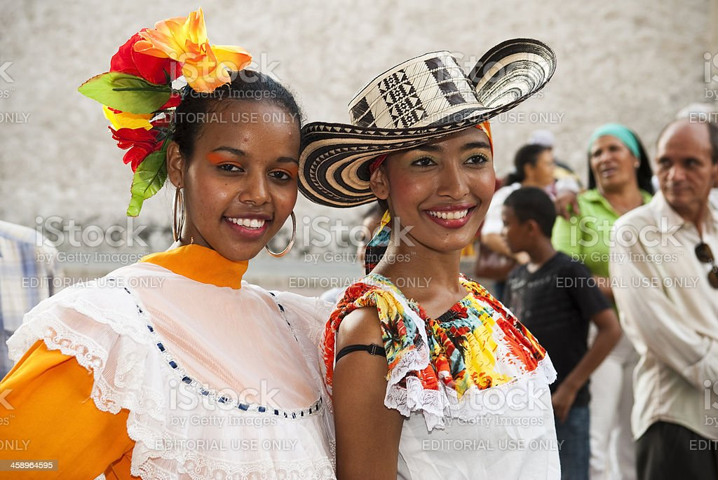 Colors of Colombia royalty-free stock photo