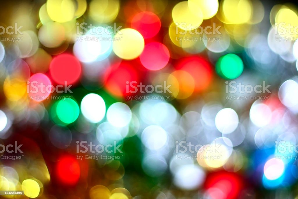 colors of christmas stock photo
