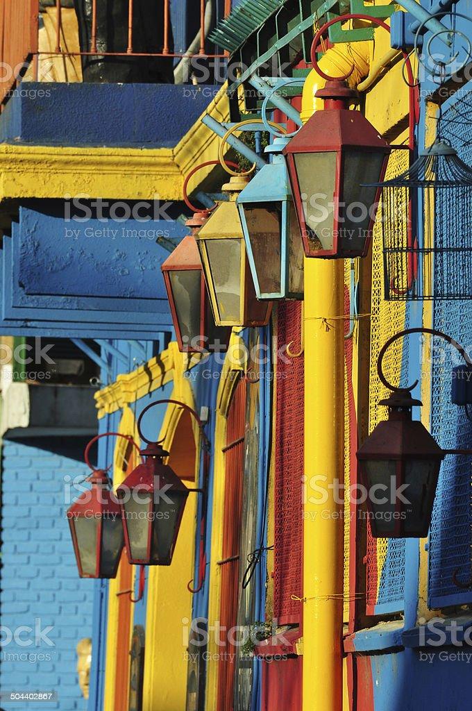 Colors of La Boca stock photo