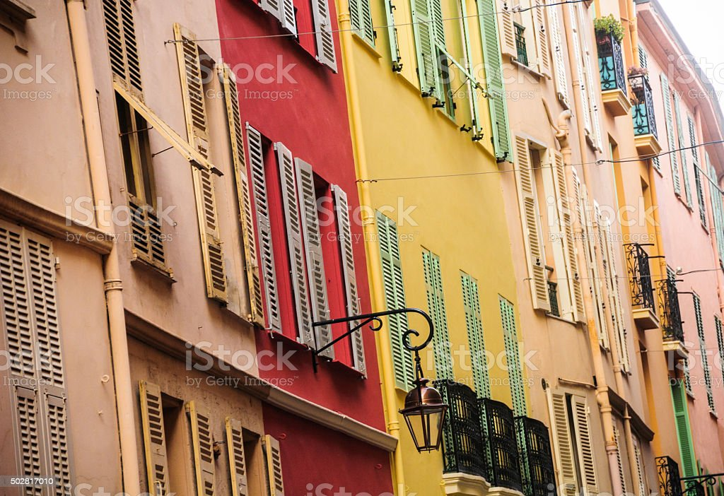 Colors of Monaco stock photo