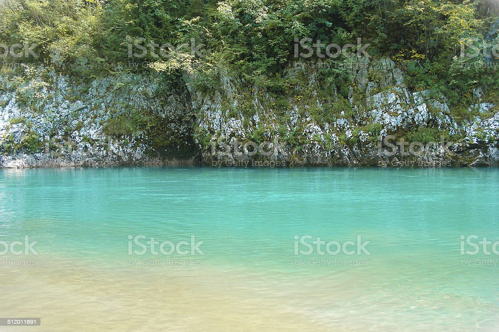 Colors of River stock photo