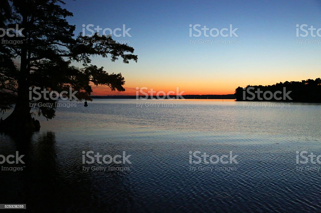 Colors of sunrise stock photo