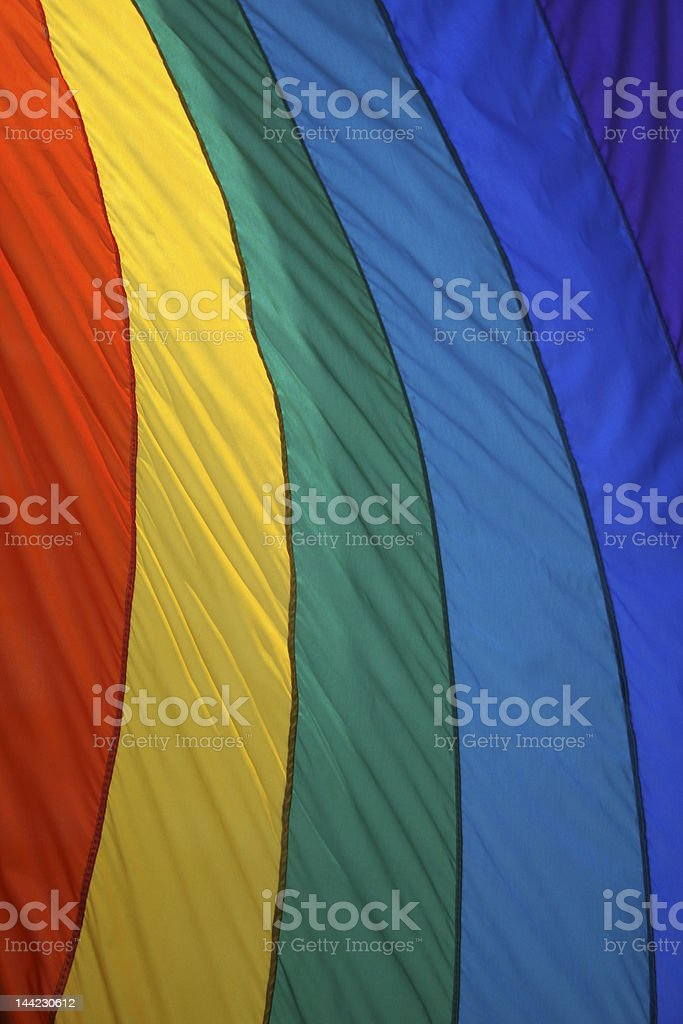 Colors Of The Gay Pride Flag royalty-free stock photo