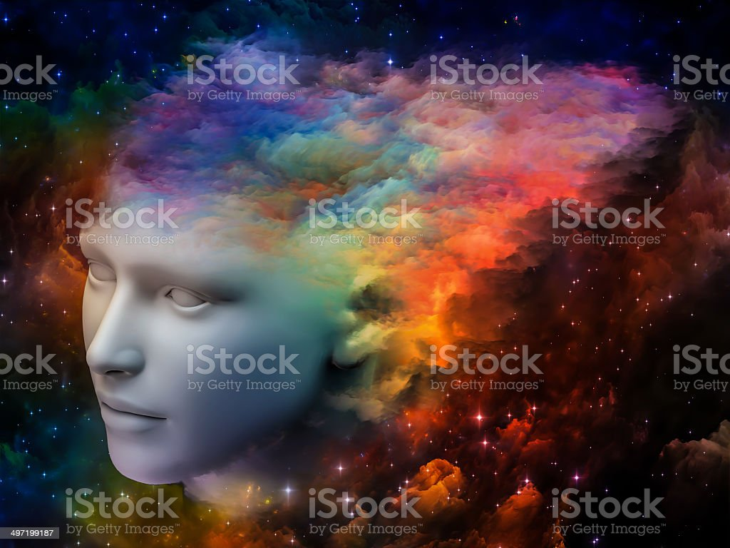 Colors of the Mind royalty-free stock photo