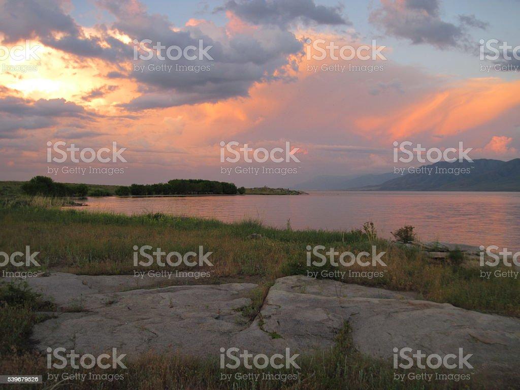 Farben des Himmels Lizenzfreies stock-foto