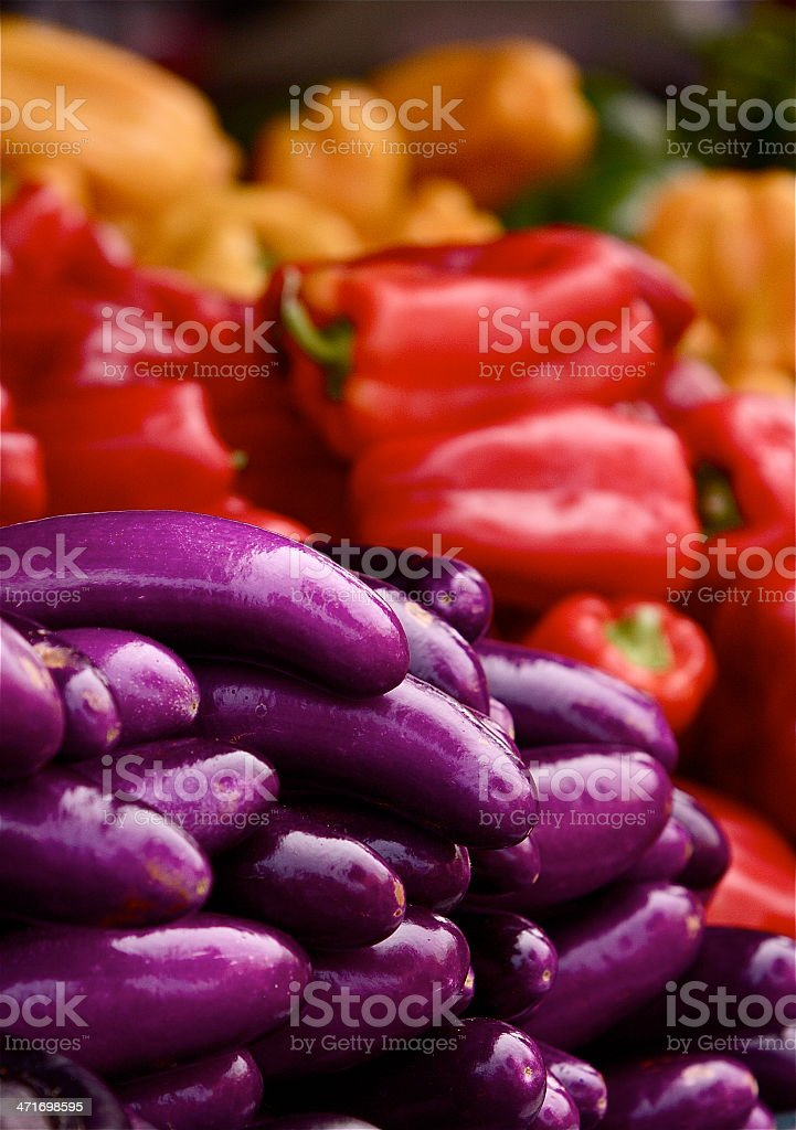 Colors of Vegetables royalty-free stock photo