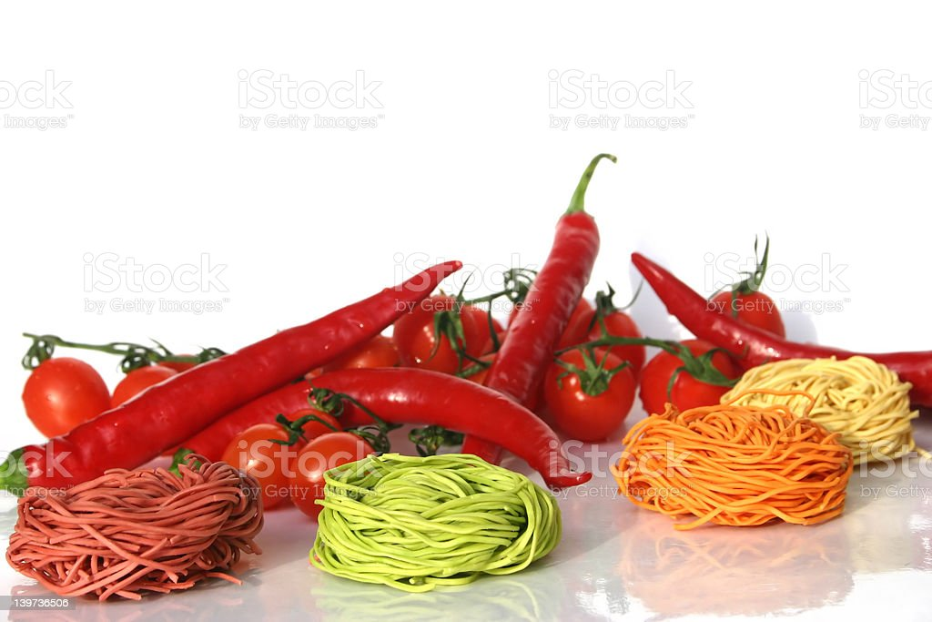 colors pasta royalty-free stock photo