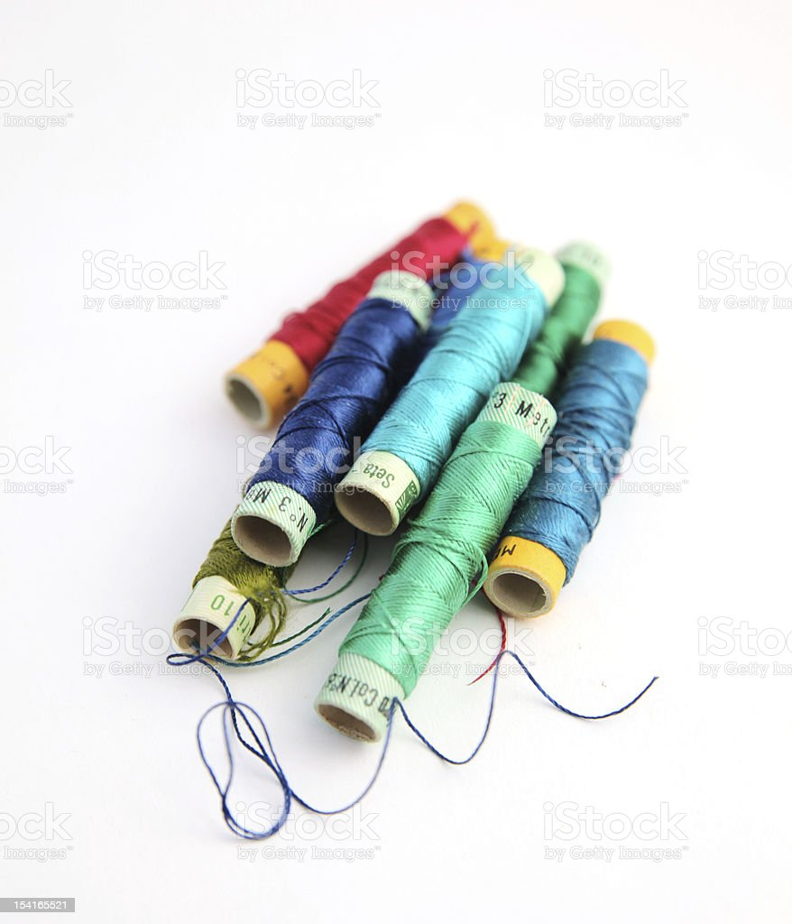 colors reels stock photo