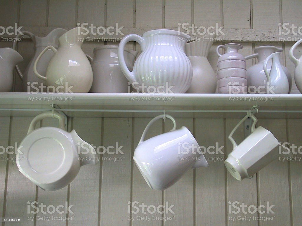 Colors  & Shapes of White stock photo