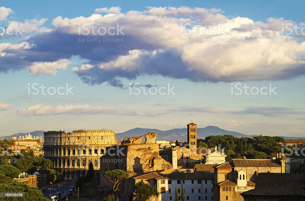 Coloseum, Rome stock photo