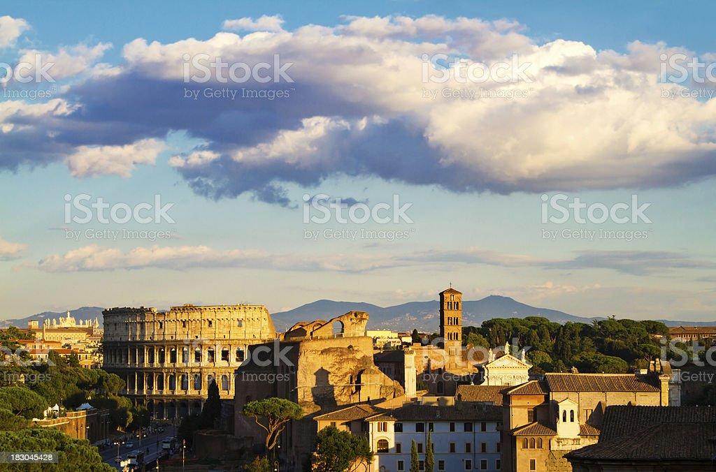 Coloseum, Rome stock photo