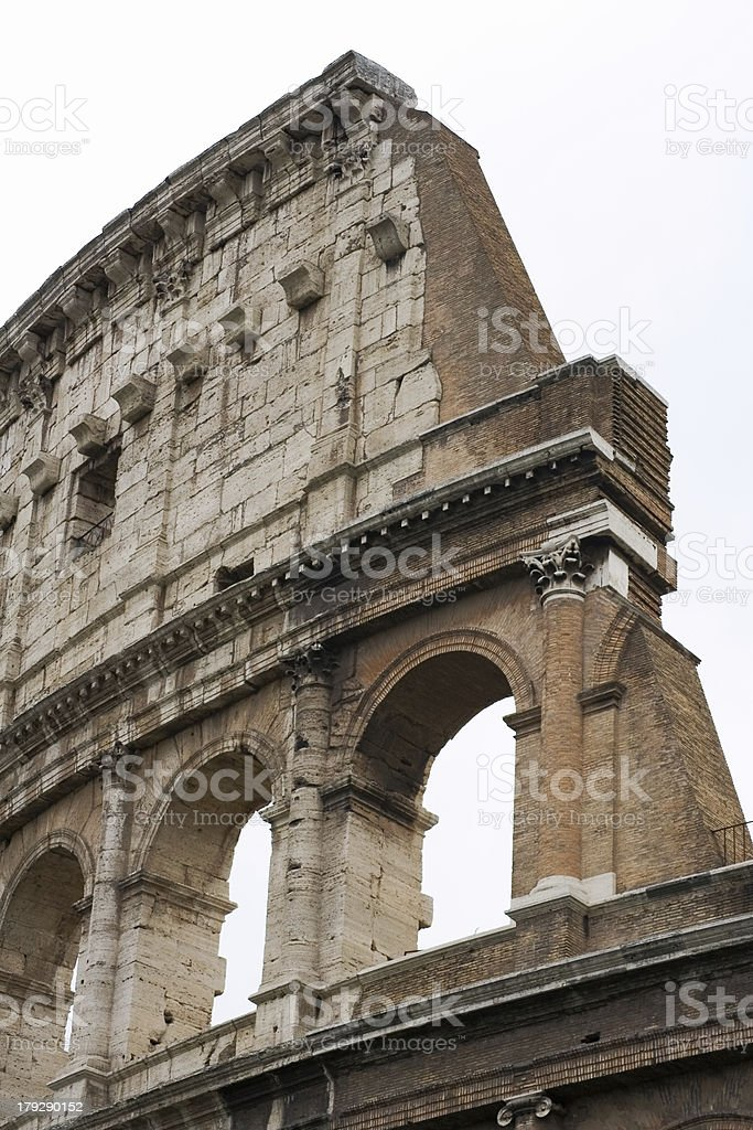 Colosseum close-up royalty-free stock photo