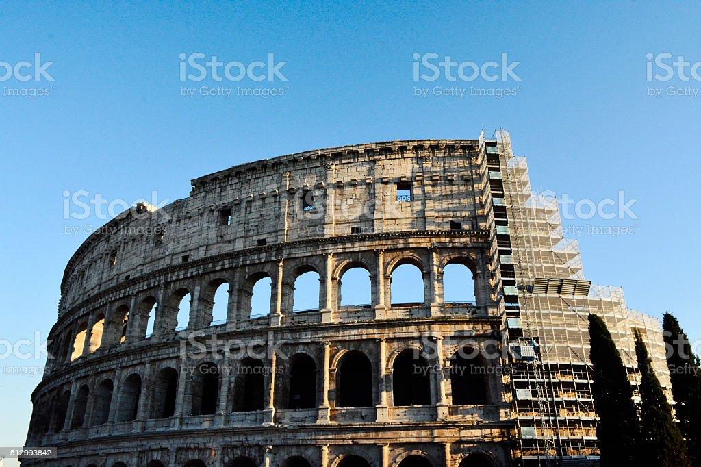 Colosseum Exterior stock photo