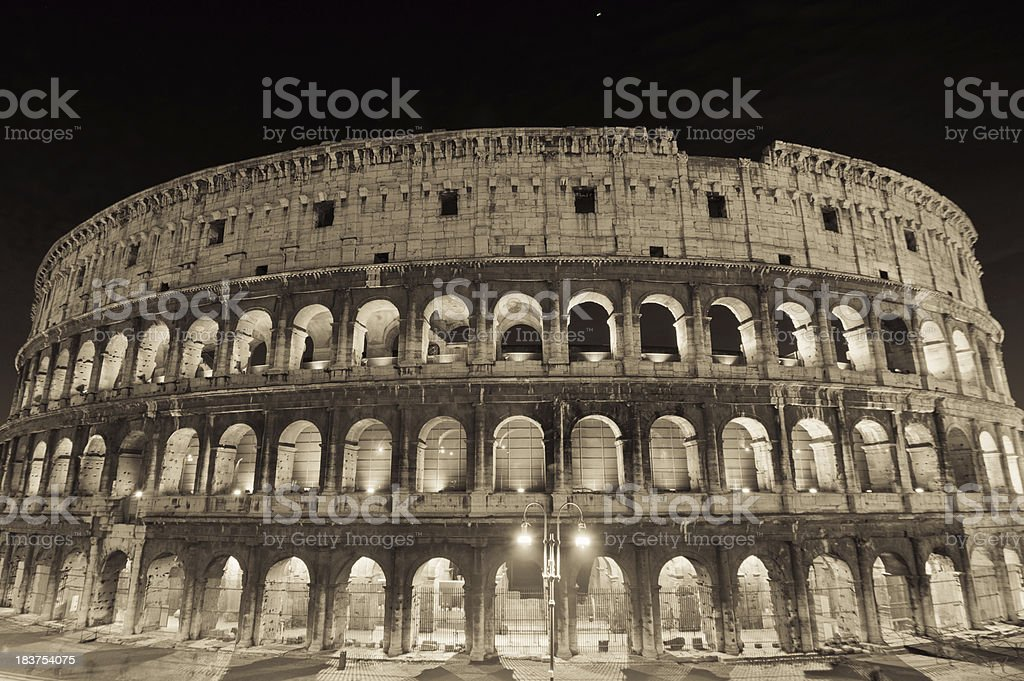 Colosseum HDR photo royalty-free stock photo