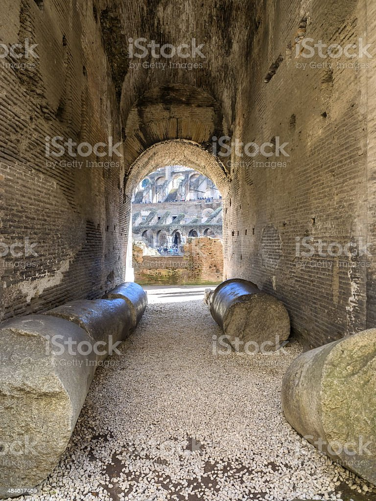 Colosseum in Rome, Italy royalty-free stock photo