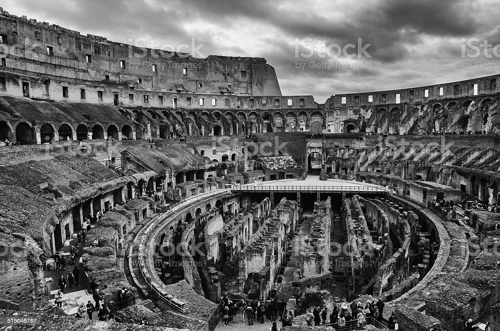 Coliseu, em Roma, Itália foto royalty-free