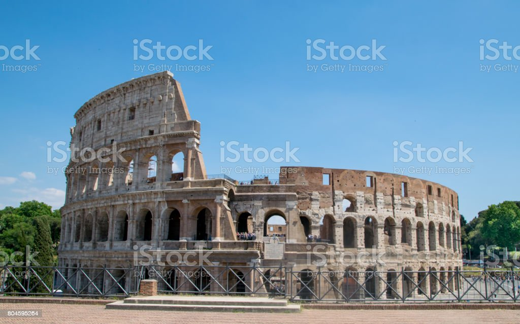 Colosseum in Rome, Italy stock photo