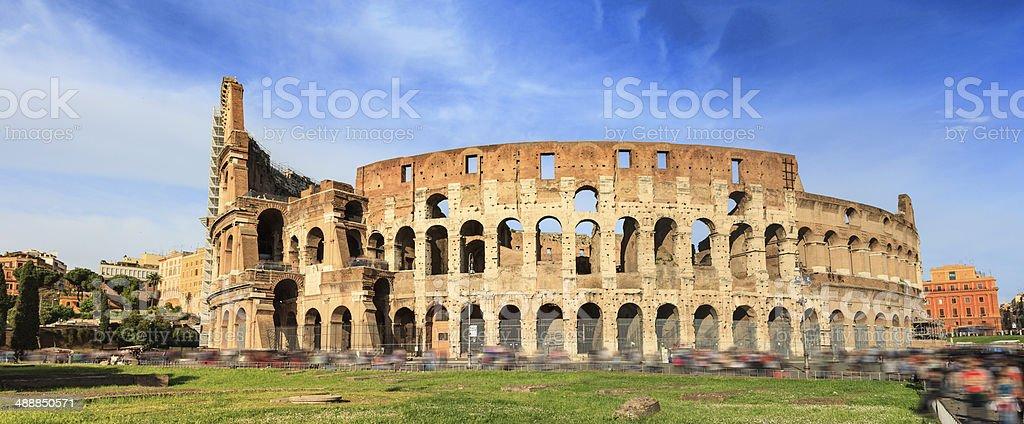 Colosseum in Rome stock photo