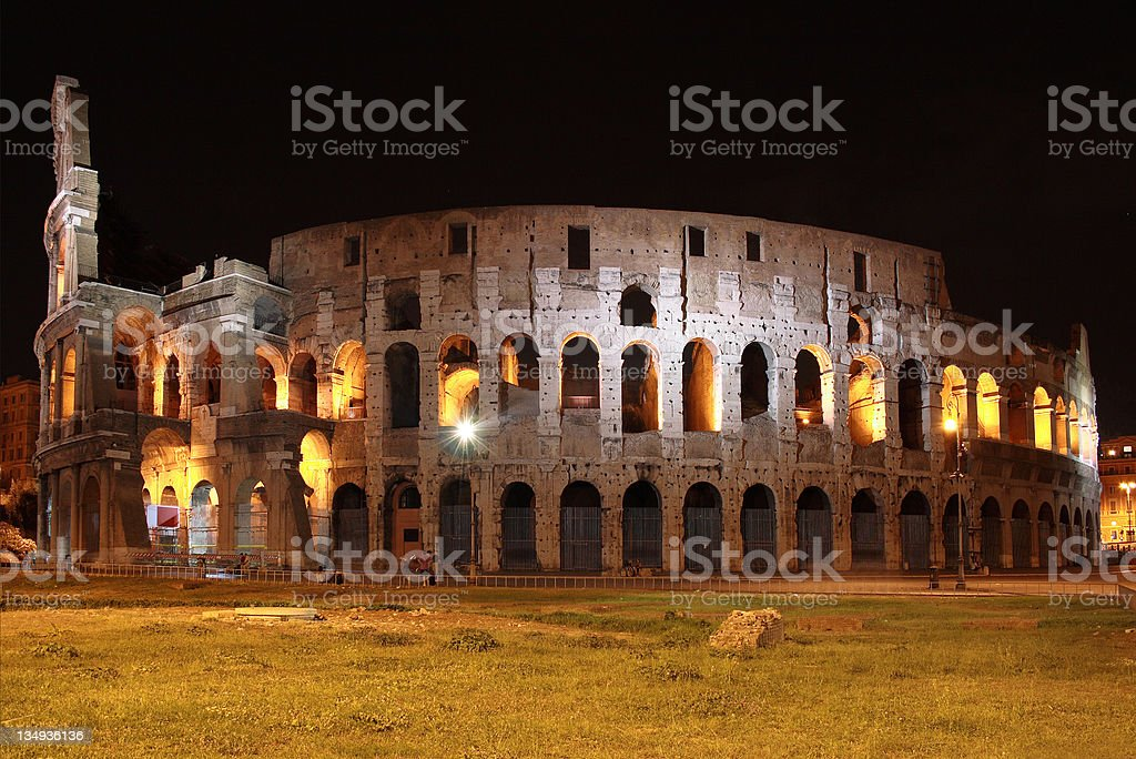 Colosseum of Rome royalty-free stock photo