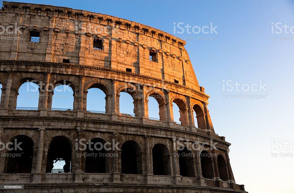 Colosseum (Rome. Italy. Europe stock photo