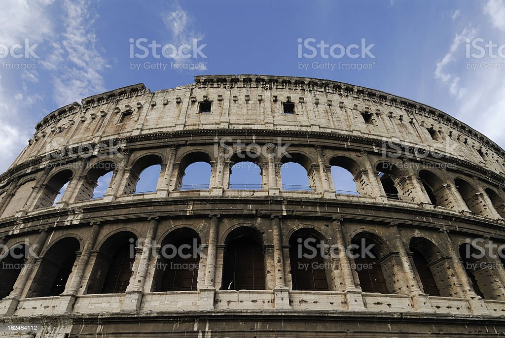 Colosseum Rome Italy royalty-free stock photo