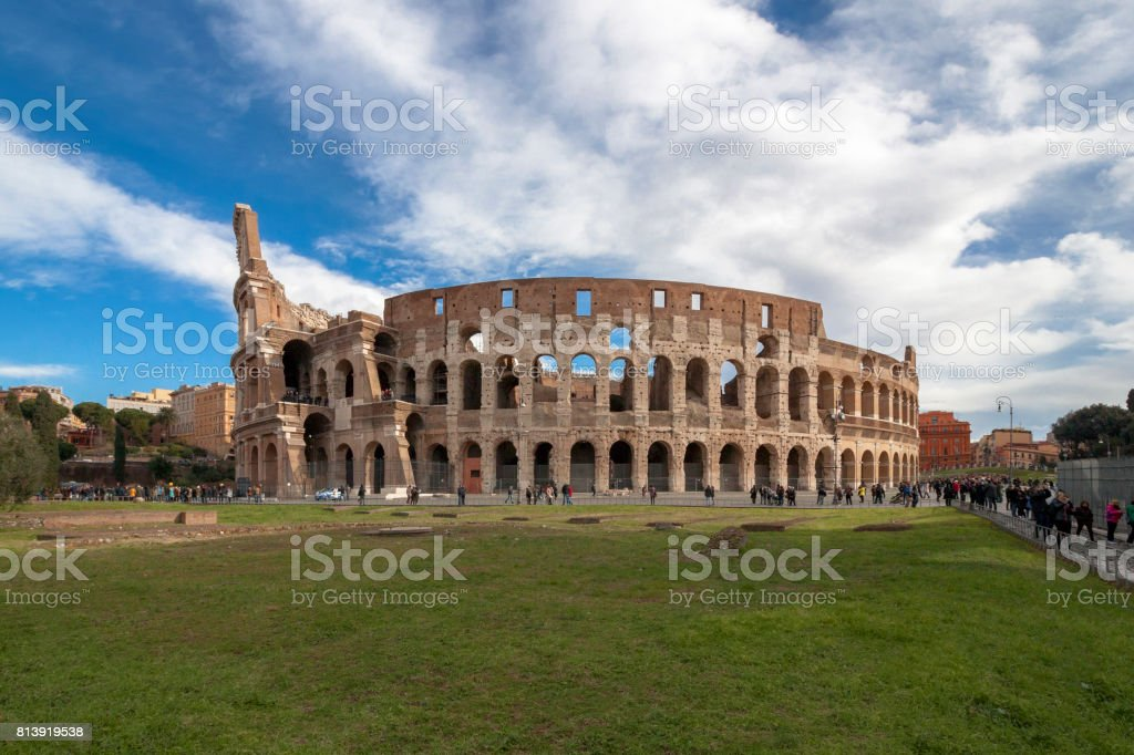 Colosseum, Rome, Italy. stock photo