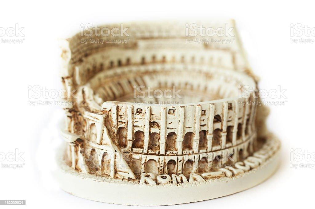 Colosseum, Rome (souvenir) stock photo