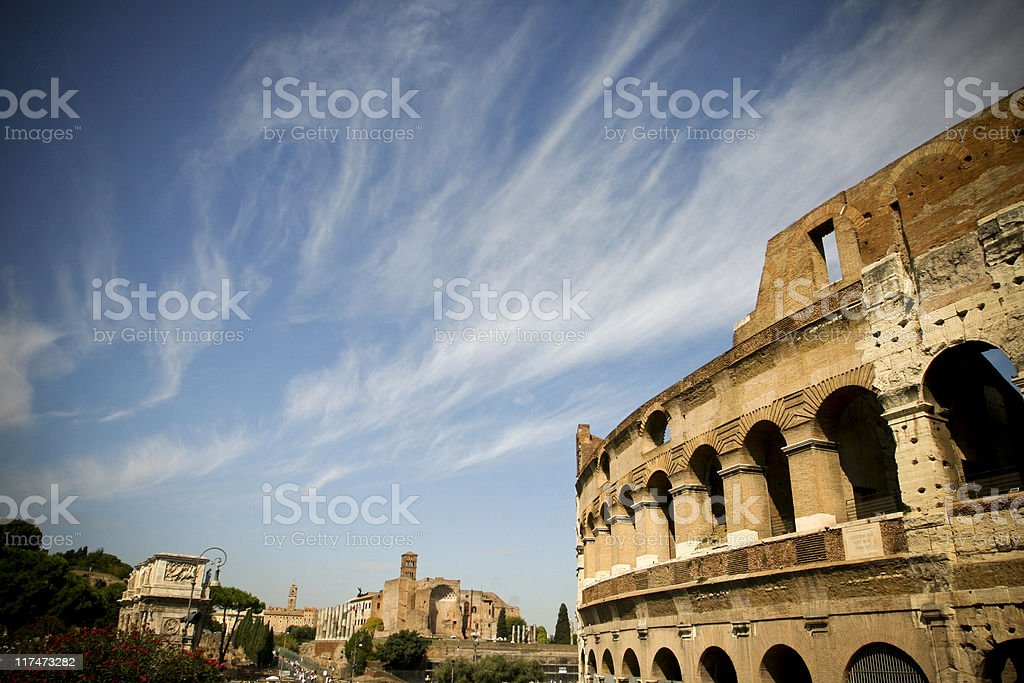 Colosso Roma royalty-free stock photo