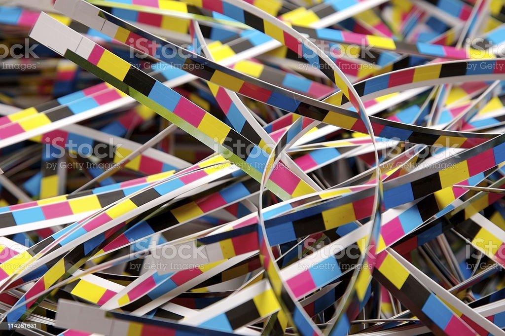 Colour Bars... stock photo