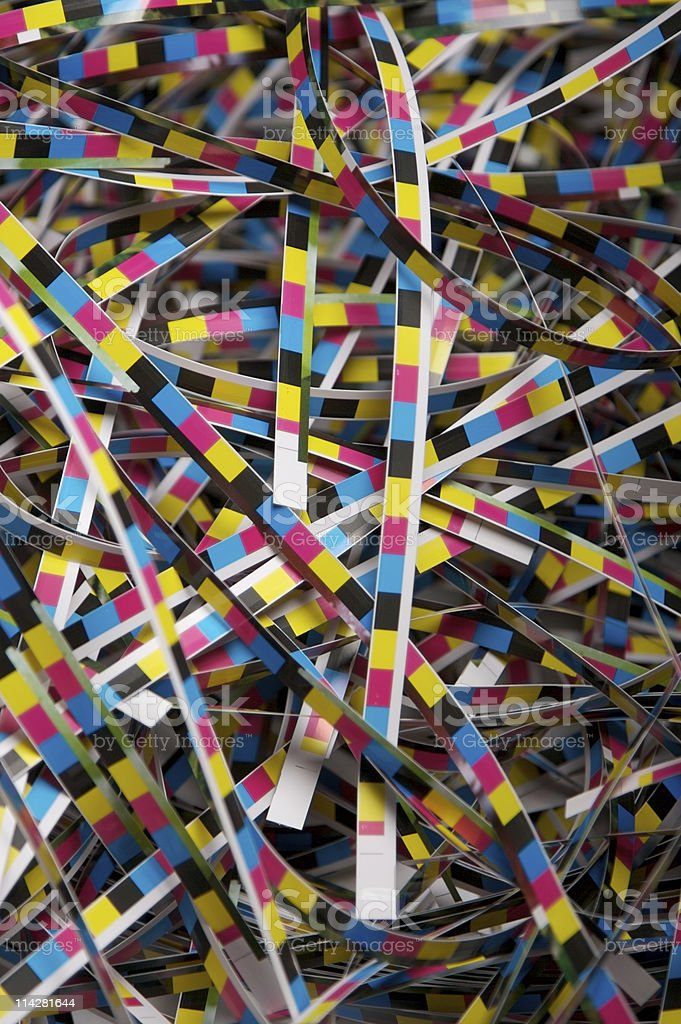 Colour Bars... royalty-free stock photo
