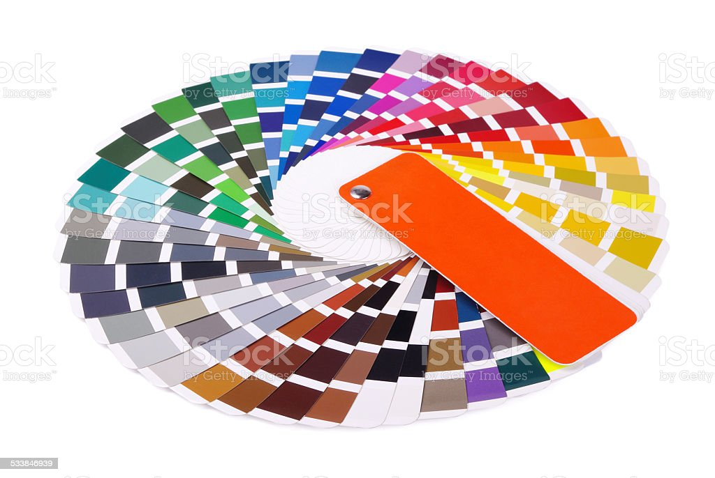 Colour card stock photo