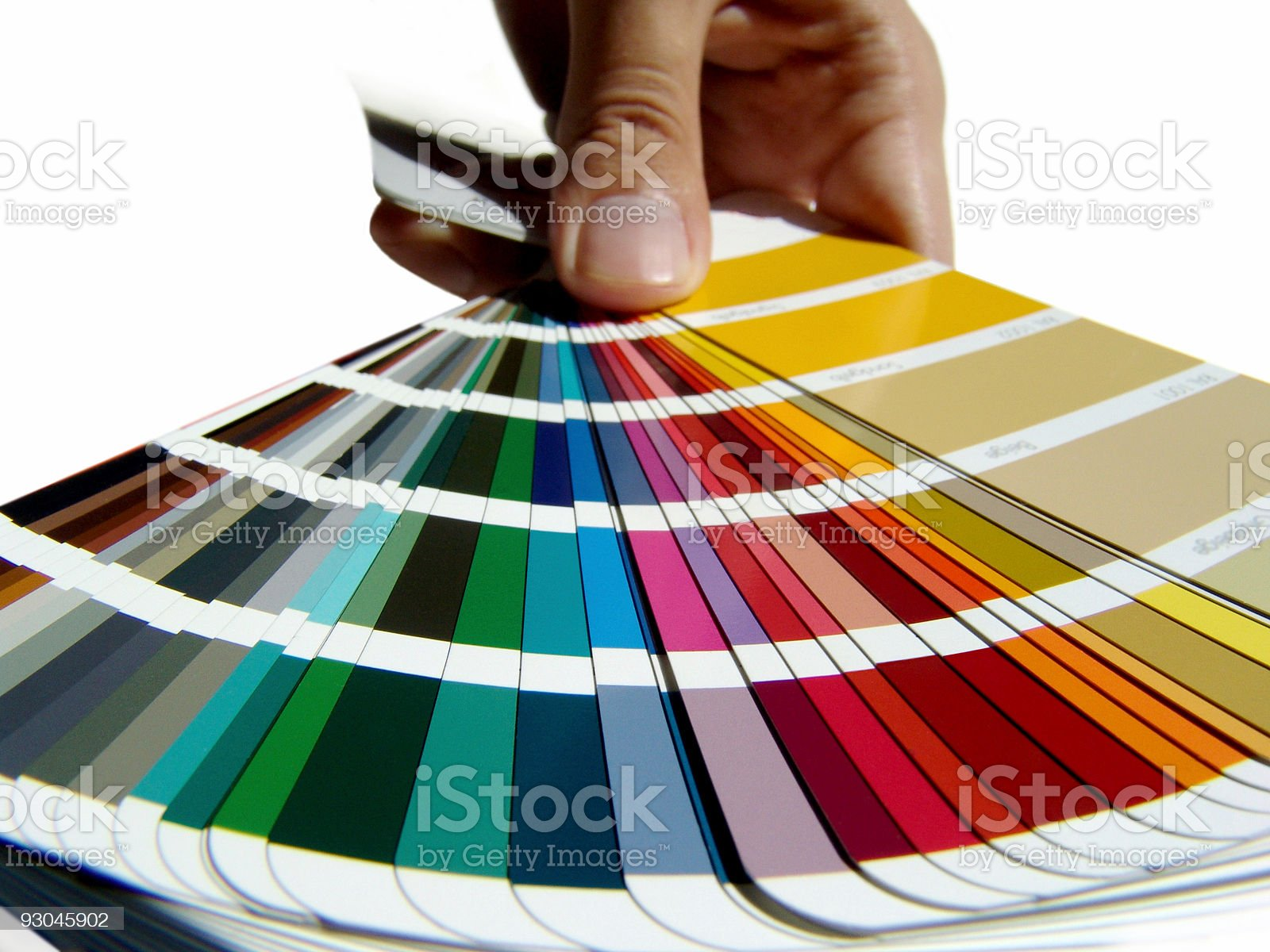 colour card royalty-free stock photo